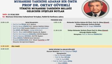 Muhasebe Tarihine Adanan Bir Ömür: Prof. Dr. Oktay Güvemli - Türkiye Muhasebe Tarihinin Belleği Geleceğe Düşülen Notlar Konferansı